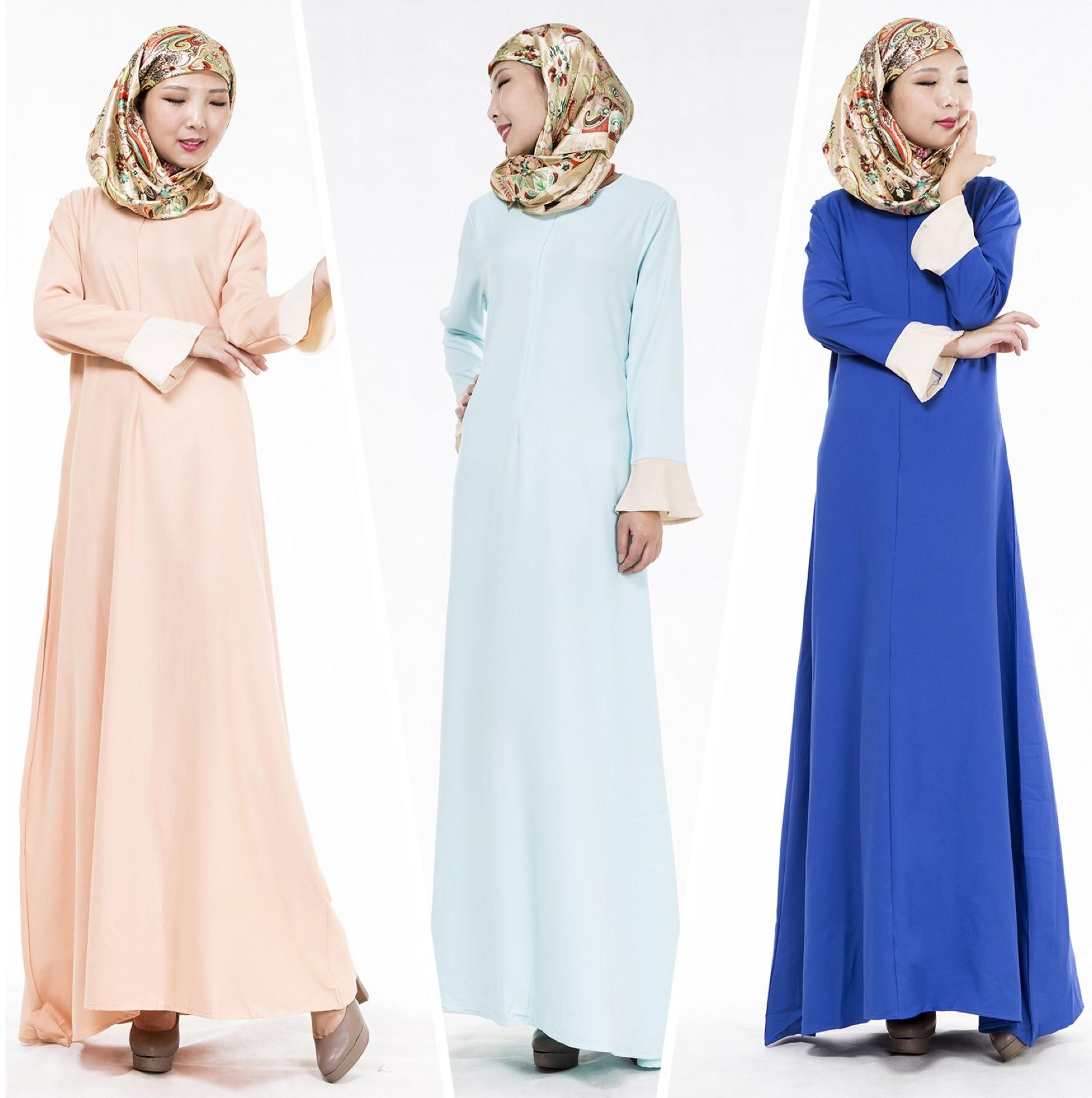 Модели мусульманских платьев фото