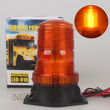 1pcs Yellow DC12V High Power Vehicle LED Flashing Beacon/Strobe Emergency Lamp Police Warning Light Bright Car Mounted For Honda(China)