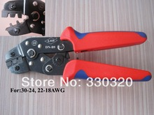 Terminal crimping pliers for crimping dupont pin connector 30-18 AWG,D-SUB connector crimping tool DN-B9