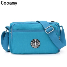 Buy 2018 Fashion Designer Ladies Messenger Bag bolsa feminina Female Handbags Waterproof Nylon Womens shoulder Bags Crossbody Bag for $8.21 in AliExpress store