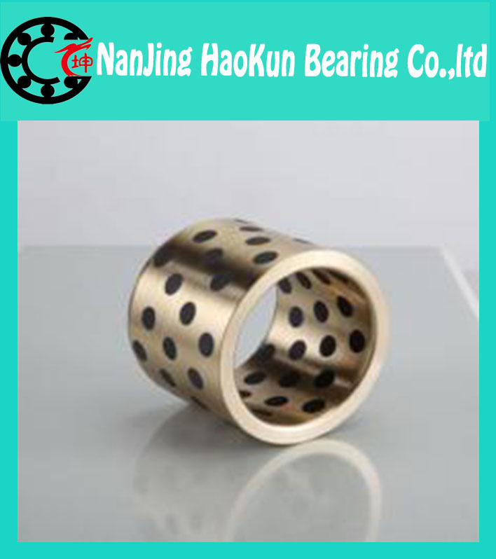JDB 708540 oilless impregnated graphite brass bushing straight copper type, solid self lubricant Embedded bronze Bearing bush<br><br>Aliexpress