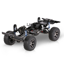 AX-D9001 metal CNC Frame for 1/10 D90 Rock Crawler RC Car with Transfer Case Differential Gear Box Receiver Hide Electronics Box