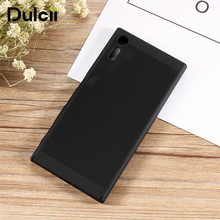 Buy Dulcii Sony xperia xzs xz Cover Hollow Mesh Heat Dissipation Hard Protective Case Sony Xperia XZ s X Z Phone Coque Cases for $2.06 in AliExpress store