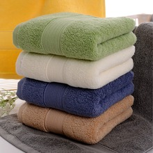36x76cm Thicken Cotton Face Towel High Quality Solid Color Hand Towels