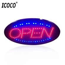 LED Open Sign Advertising Light Shopping Mall Bright Animated Motion Running Neon Business Store Shop with Switch US EU plug(China)