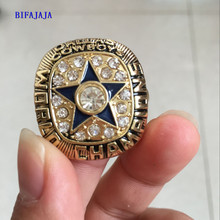 BIFAJAJA Drop Shipping High Quality1971 Dallas Cowboys Super Bowl championship rings Sports Fan Jewelry(China)