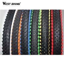 WEST BIKING Bicycle Tire 26*1.95 Anti-slip Durable Colorful Neumaticos Bicicleta Mountain Road MTB Bike Cycling Bicycle Tire