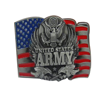 Belt Buckles Metal Military USN U.S. Army Air Force NAVY ocean forces MARINES Suitable For 4 cm Width Belt Buckle Free Shipping(China)