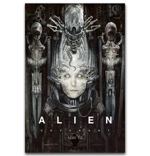 S075 2017 Science Fiction thriller Movie Alien Covenant Hot Art Poster Silk Light Canvas Painting Print Home Decor Wall Picture(China)