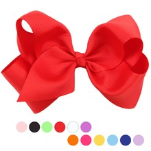 Children's Baby Girls Boutique Hair Bow Hair Clips Baby Bow Knot Hairpins Toddler Girl Hair Bow Grips Girl Hair Accessories(China)