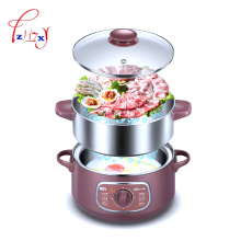 Home use electric steamer 8L Bun Warmer 800W Cooking Appliances Food Warmer Steamed Steamer Electric Steamer 220V 1pc(China)