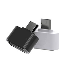 VAS-A07 Mini Micro USB To USB OTG Adapter 2.0 Converter USB Gadgets Hug Converter Tablet MP3 OTG Cable Adapter For Android Phone