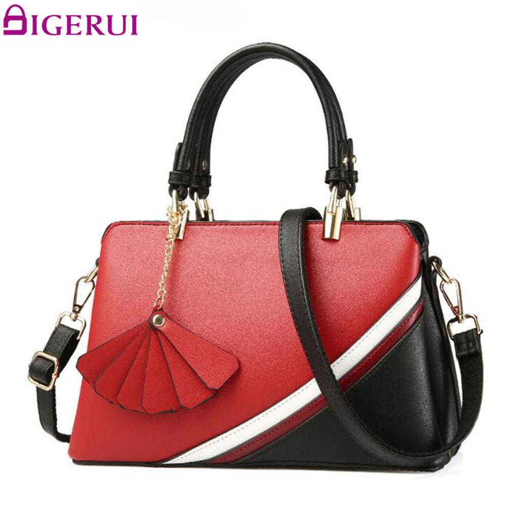 DIGERUI Female Handbag PU Leather Shoulder Bags Women Totes High Quality Women Handbags bolsa feminina SC0505<br>