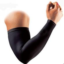 1pcs Outdoor Sports Sunscreen sleeves Cover Hand Arm Elbow Protector Gear Basketball Football Long Sleeves