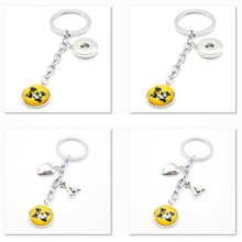 2017 New Baseball Keychain NCAA Missouri Tigers Charm Key Chain Car Keyring for Women Men Party Birthday Keyrings Gifts