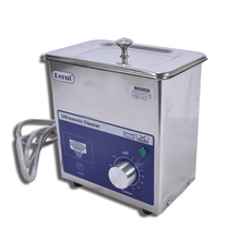 DR-MS07 60W power ultrasonic cleaner, industrial shock sub for household jewelry glasses dentures ultrasonic washing machine 1pc