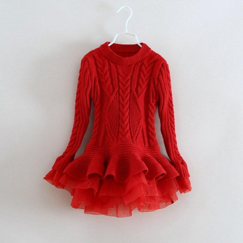 tumblr sweatshirtTutu Dress Crochet Ruffles Organz Christmas Party Toddler Girl Vestidos winter autumn spring Girls Dress <br>