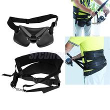 Adjustable Thickened Offshore Fishing Harness & Standing Up Fighting Belt Waist Gimbal Rod Holder(China)
