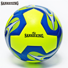 SANKEXING Entertainment Soccer Ball Official Size 5 Training Football Balls Anti-slip Futbol PU Voetbal Bal Outdoor Soccer(China)
