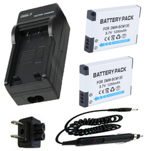 Battery 2-Pack + Charger Panasonic DMW-BCM13 Lumix DMC-ZS27,DMC-ZS30,DMC-ZS35,DMC-ZS40,DMC-ZS45,DMC-ZS50 Digital Camera - Sunny-Room store