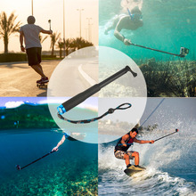 High Quality Telescopic Extendable Selfie Stick Pole Arm Monopod For GoPro Hero Camera for Travel and outdoor sports Promotion