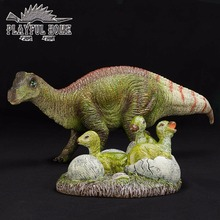 Handmade Certified Goods Maiasaura Dinosaur Eggs Soft Model Pvc Animals Action Figure Toy For Child Kid Stuffed Figma Anime Doll(China)