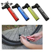Mini Portable Bike Tire Inflator Aluminum Alloy Bicycle Air Pump Super Light Bike Pump Small Accessory Black/Blue/Green/Red(China)