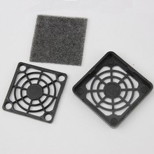2pcs/lot 40mm Fan Dust Filter Dustproof for 4cm PC Computer Case Cooling(China)