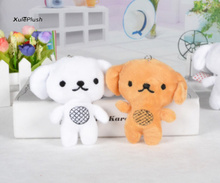 2colors- super kawaii cute dogs Plush Stuffed TOY DOLL , 9cm approx. doggies small plush toys(China)