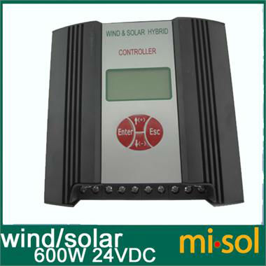 24VDC input 600W Hybrid Wind Solar Charge Controller , Wind regulator<br><br>Aliexpress
