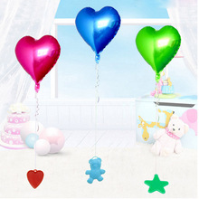 500pcs/lot party supplies balloon pendants bearing blocks Wedding decorations Kids toys bear/heart/star/circle shape wholesale