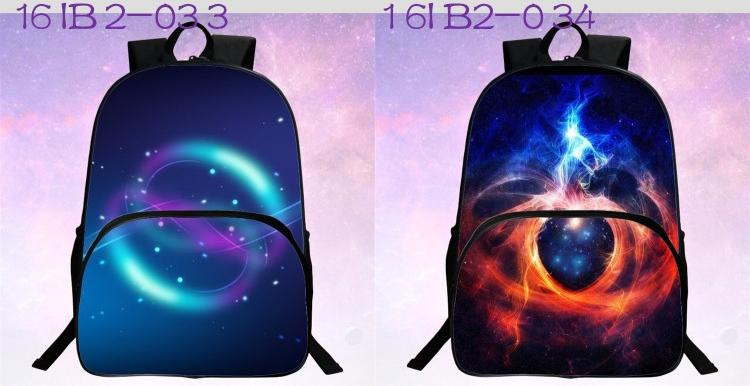 حقائب مدرسية / الكون / الفضاء/ 24 لوان للبنات 4