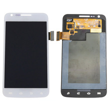 100% Tested White LCD For Samsung galaxy S2 Skyrocket i727 AT&T LCD Display touch screen with digitizer Assembly ,Free shipping