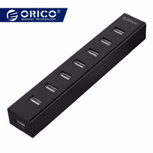 ORICO H7013-U2 7 Ports USB 2.0 HUB 대 한 맥 노트북 Perfectly 와 30 CM 자료 (msds) Cable-Black/White /Gray/Blue(China)