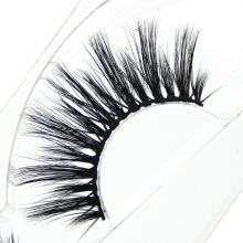 YOKPN 3D-20 Imported Fiber False Eyelashes Natural Long Cross Thick 3D Stereo Fake Eyelashes Stage Performance Makeup Eye Lashes