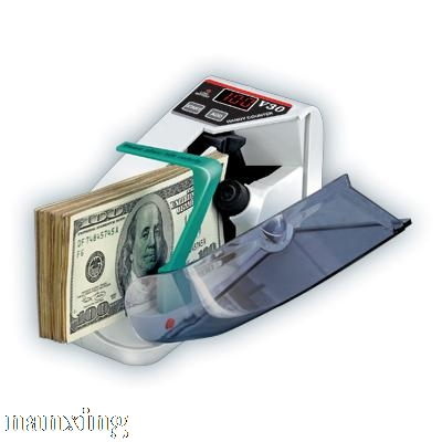 Free Shipping Mini Portable Handy Money Counter For All Currency Note Bill Cash Counting<br>