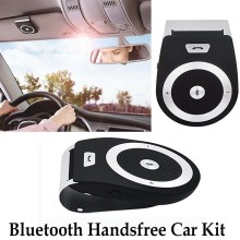 2016 NEW Bluetooth Car Kit Hands Free Bluetooth Speaker Bluetooth 4.1 EDR Music Receiver + Car Charger for Phone(China)