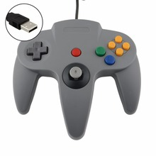 New Arrive High Quality New Style Long Handle Game Controller Pad Joystick for Nintendo for 64 N64 System Black