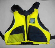 Free shipping Kayak Life Jackets With SOLAS Standard Adult size one size fits all, marine life vest, buoyancy aids, life jacket(China)