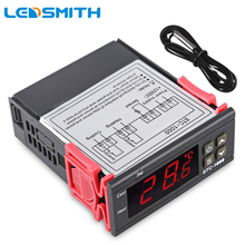 Buy LEDSMITH Two Relay Output LED Digital Temperature Controller Thermostat Incubator STC-1000 110V 220V 10A Heater Cooler for $9.68 in AliExpress store