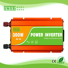 300W off grid inverter, 12V/24V DC to AC110V/220V pure sine wave inverter for small home solar power system, surge power 600W