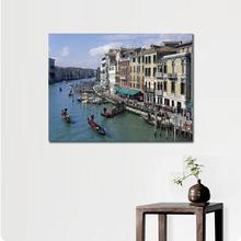 Wall decoration prints  canvas piantings City the grand canal of venice italy