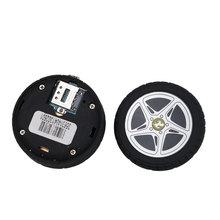 Mini Gps Tracker Anti-lost Tyre Design Remote SOS button Real-time Positioning for Children Elder MD-603 Car Accessories(China)