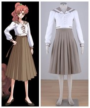 Sailor Moon Kino Makoto summer uniform anime cosplay womens Halloween Costumes(China)