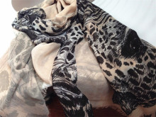 Long Scarf New Leopard Print Shawl Western Style All-season Thin High Quality Scarf World 200*95cm