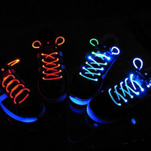 2017 New Arrival LED Shoelace Light Up 100cm Shoe Strings Multicolor Flash Fashion Disco Party Glowing Night Sports Running Shoe