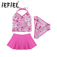 2017 New Kids Clothing Set Baby Girls Cotton Children Set for Summer Surfing Beach Holiday Bathing and Swimming Clothes Outfits(China)