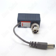 10cpcs Pairs Active UTP Transceiver Video Balun Power Two-in-one Multi Functions Cable Connector Monitor Accessory