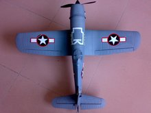 F4U Corsair fighter Airplane EPO brushless four-channel remote control airplane PNP and KIT