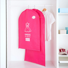 Magnetic suction thickening non - woven dust - proof bag Coat Covers Dust Cover Clothes sets of clothing dust - proof